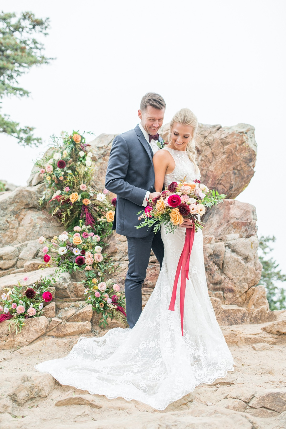 Gorgeous mountain top wedding ideas