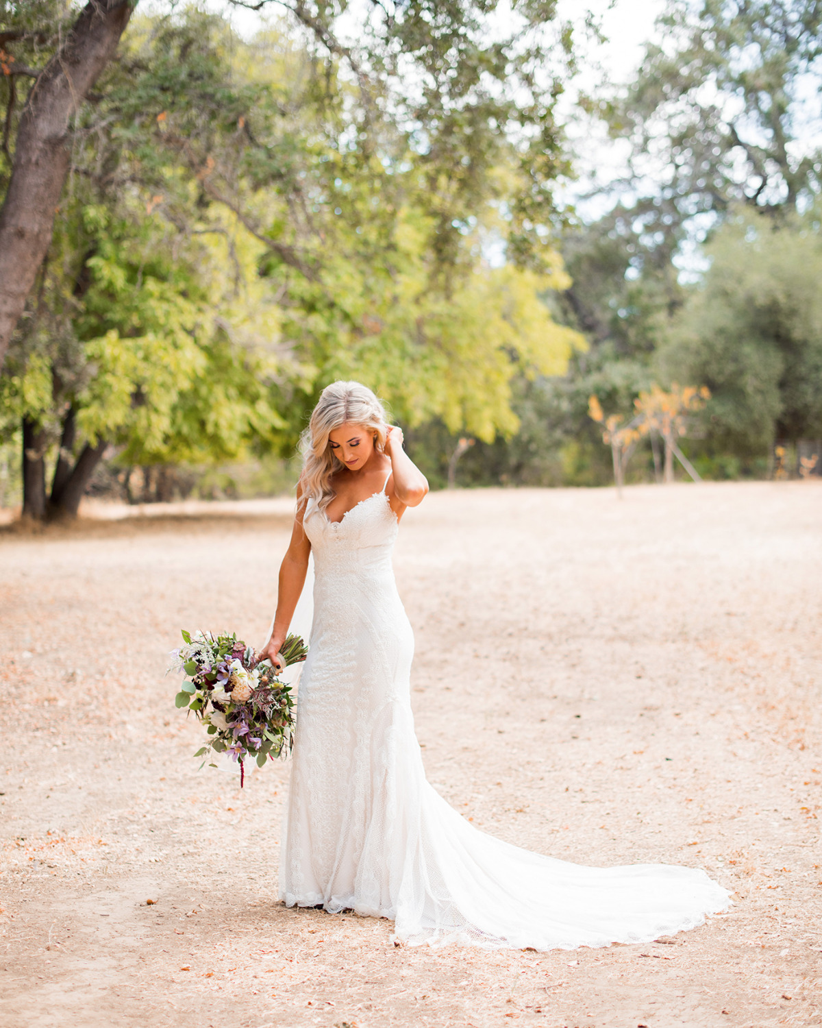 wedding dress for your rustic wedding day