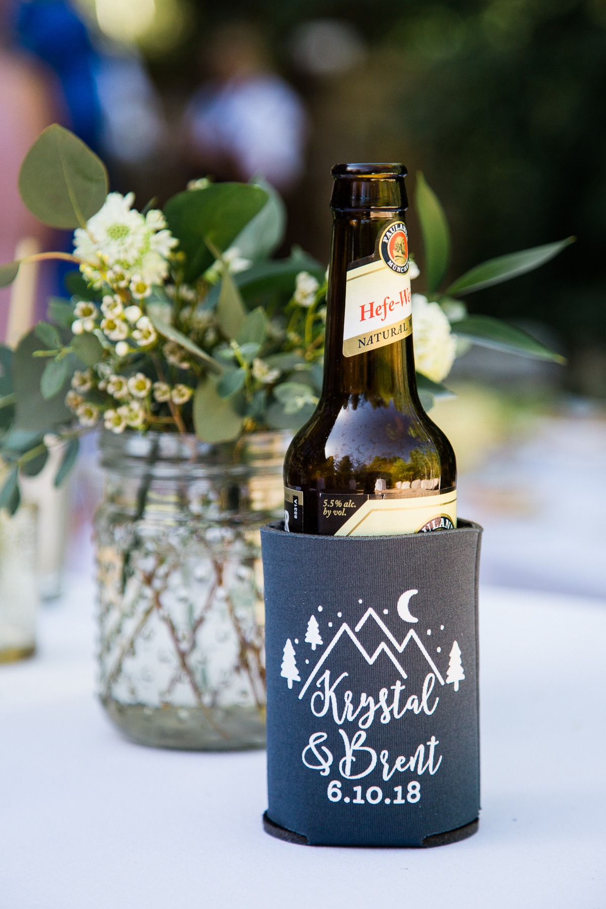 Wedding coozie design