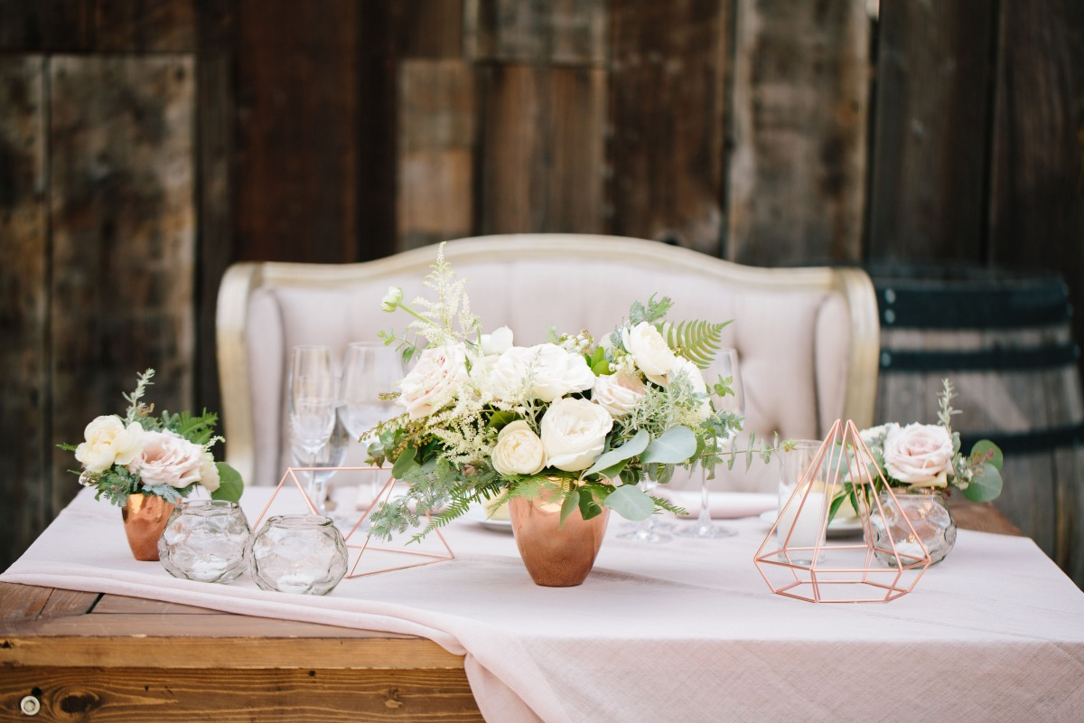 The sweetest sweetheart table