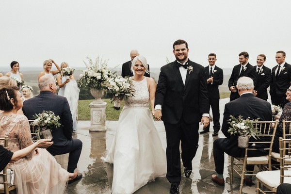 A Rainy Day Winery Wedding You Are Going To Love