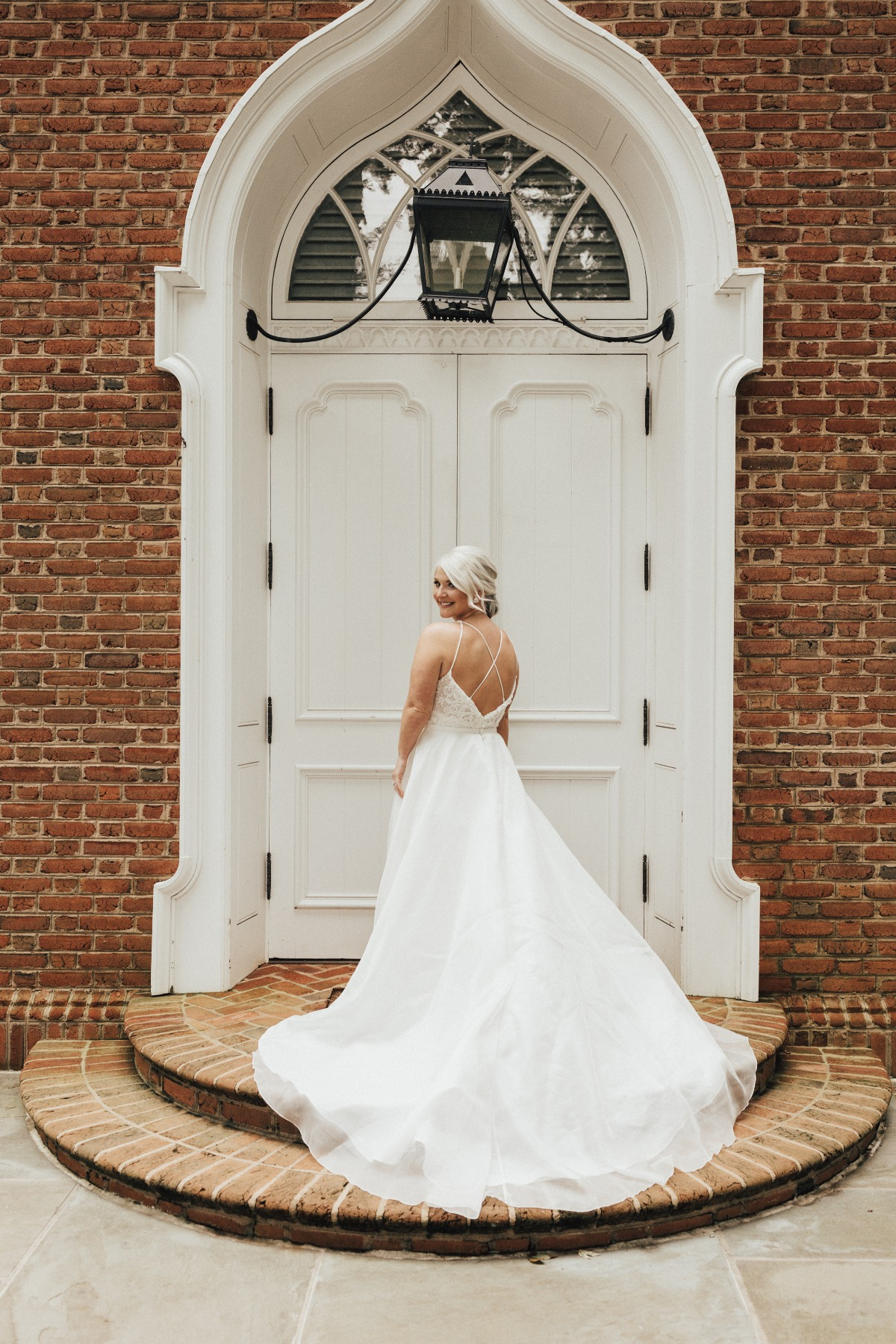 wedding dress from Ladies of Lineage Bridal Boutique