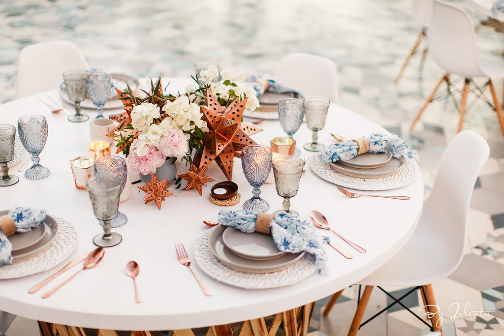 Al Fresco Dinner styling shoot!