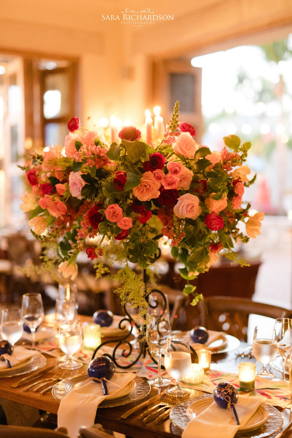 Colorful and Elegant Mexican Hacienda Wedding Style