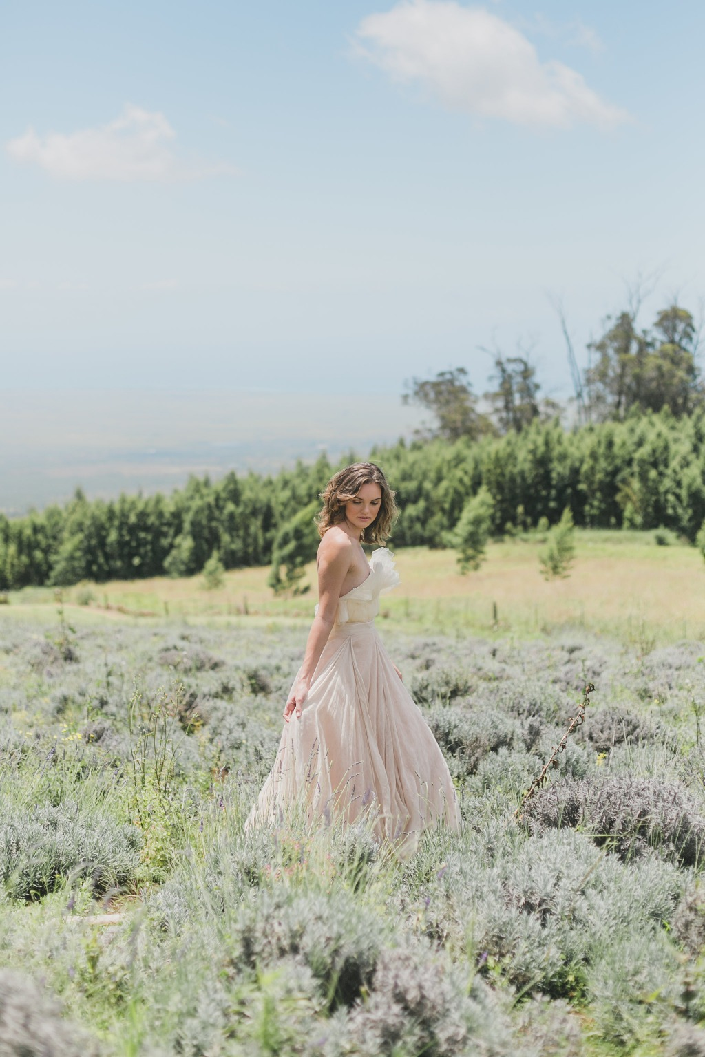 Maui Wedding Photographer | Maui Weddings | Luxury Hawaiian Wedding | Styled Wedding Shoot | Ali'i Lavender Farm Wedding | Botanical
