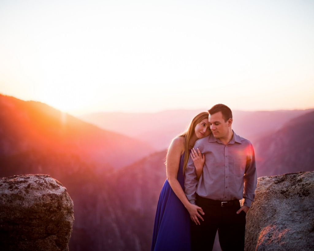 Romantic and Breathtaking Yosemite Engagement Shoot