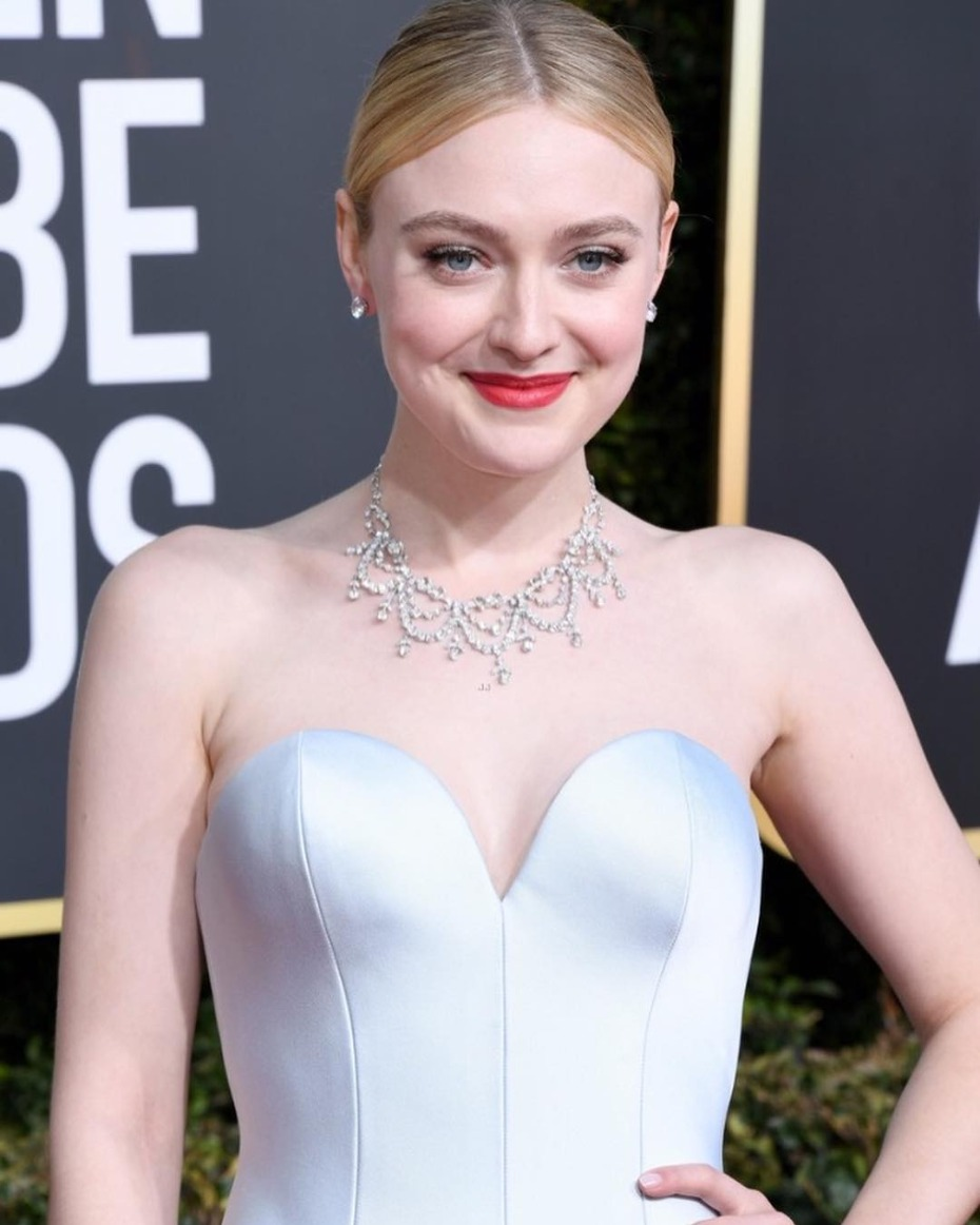 Dakota Fanning Golden Globes 2019
