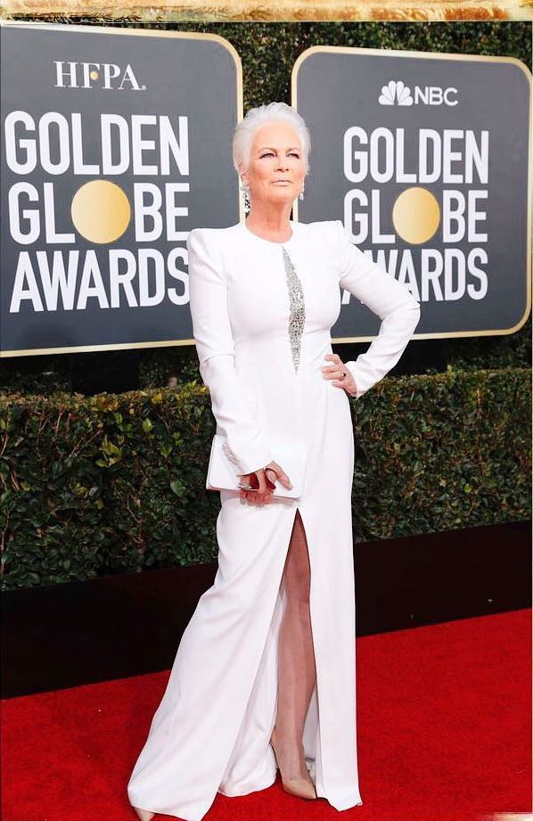 Jamie Lee Curtis 2019 Golden Globes