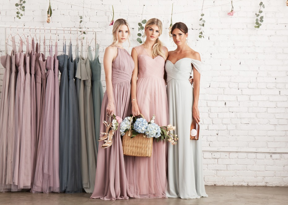 Birdy Grey Soft Pastel Gowns