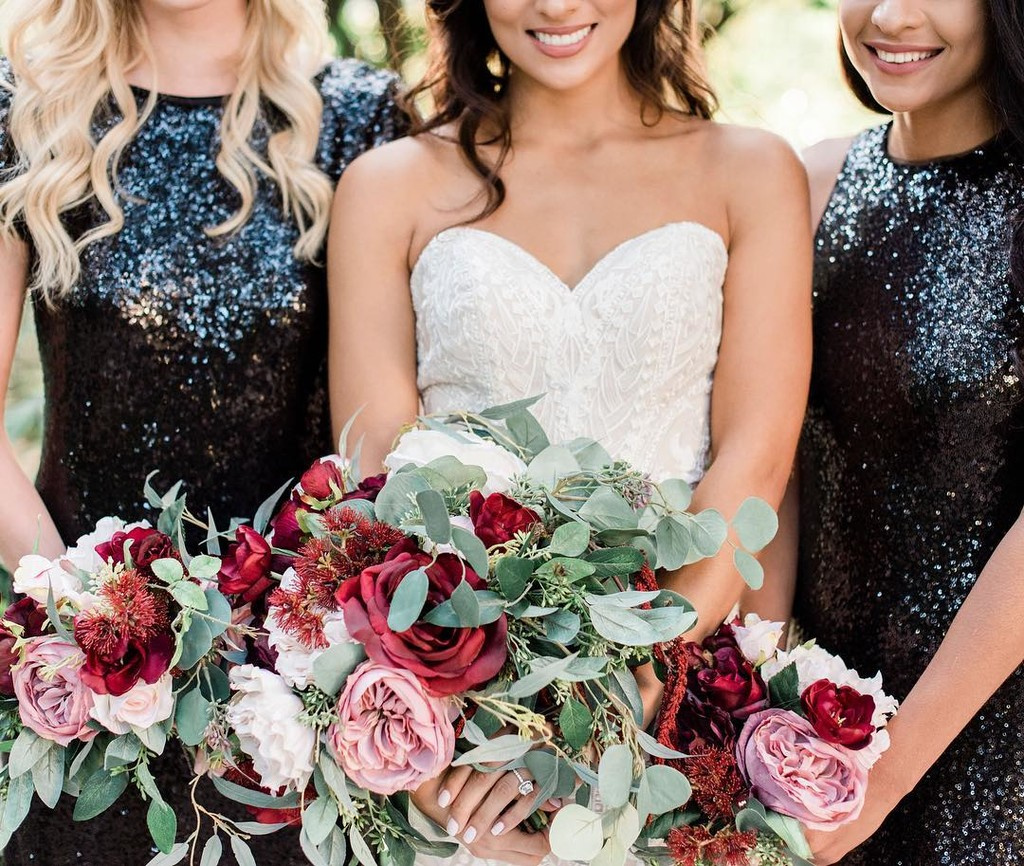 Bold gowns & beautiful bridesbabes.🖤 #ShopRevelry