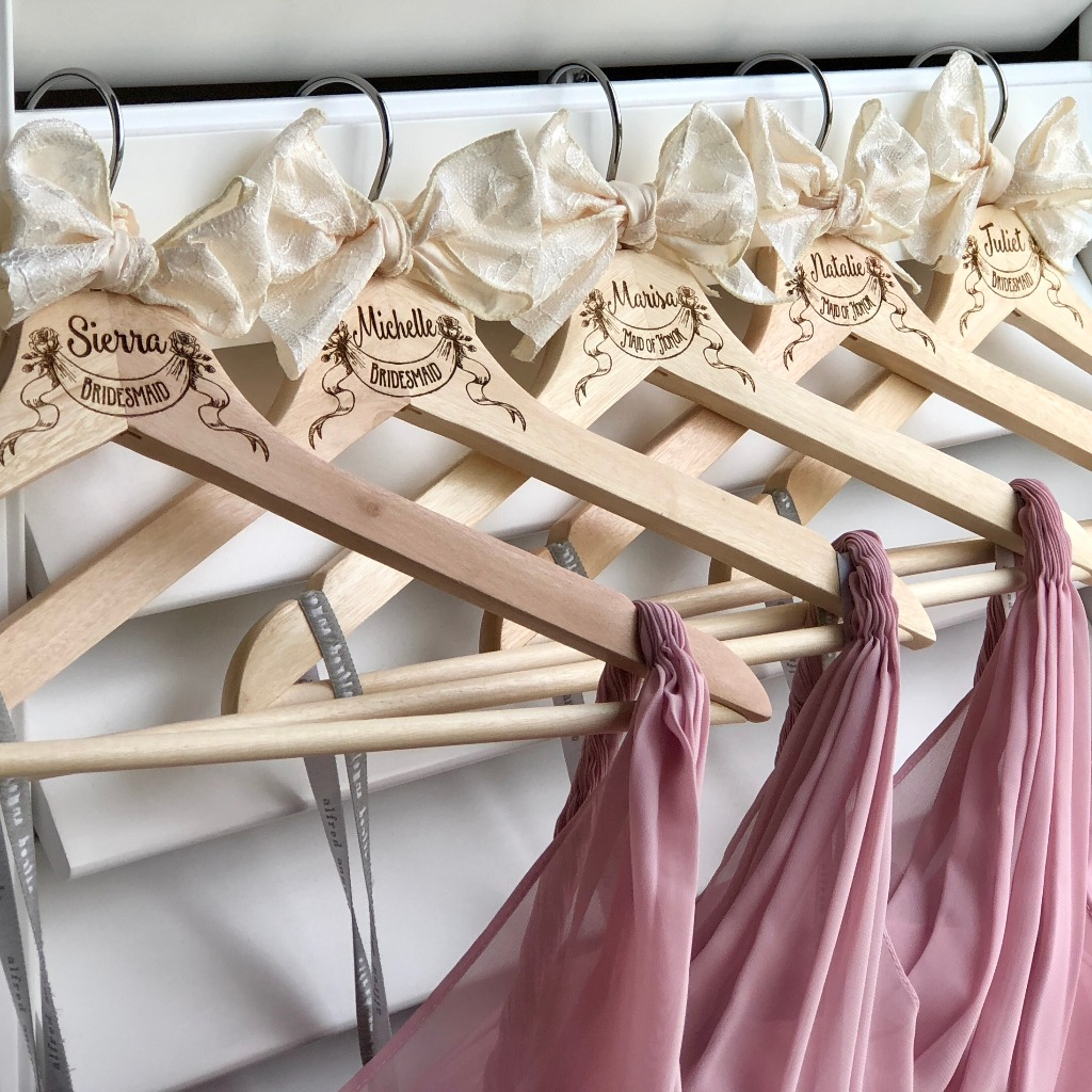 Will you be my bridesmaid? bridesmaid proposal ideas, bridal party hangers. Photography accessory