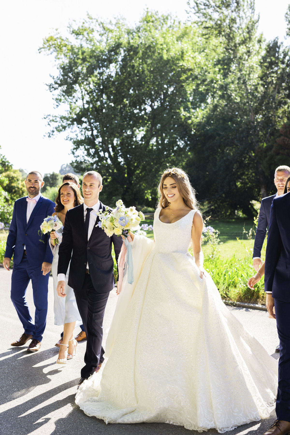 Romantic luxury wedding in Portugal
