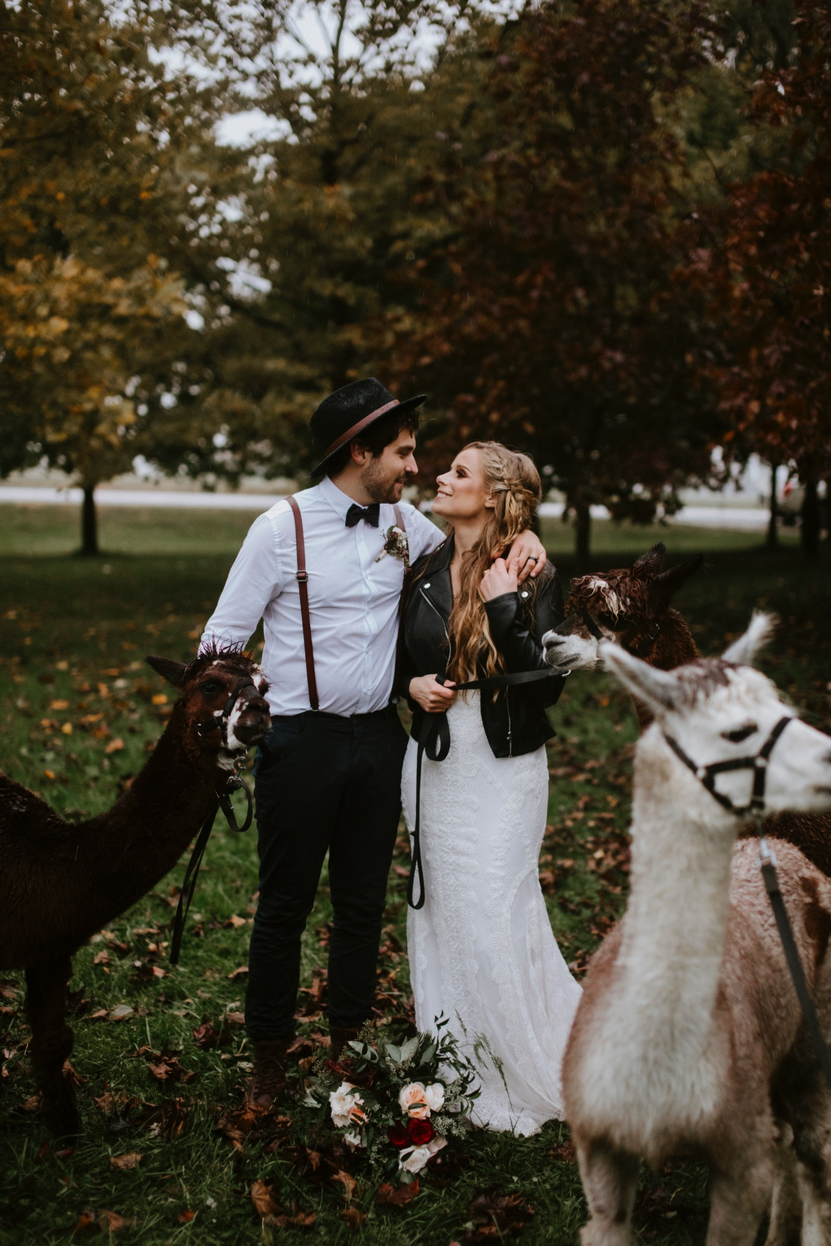 Moody boho autumn wedding ideas