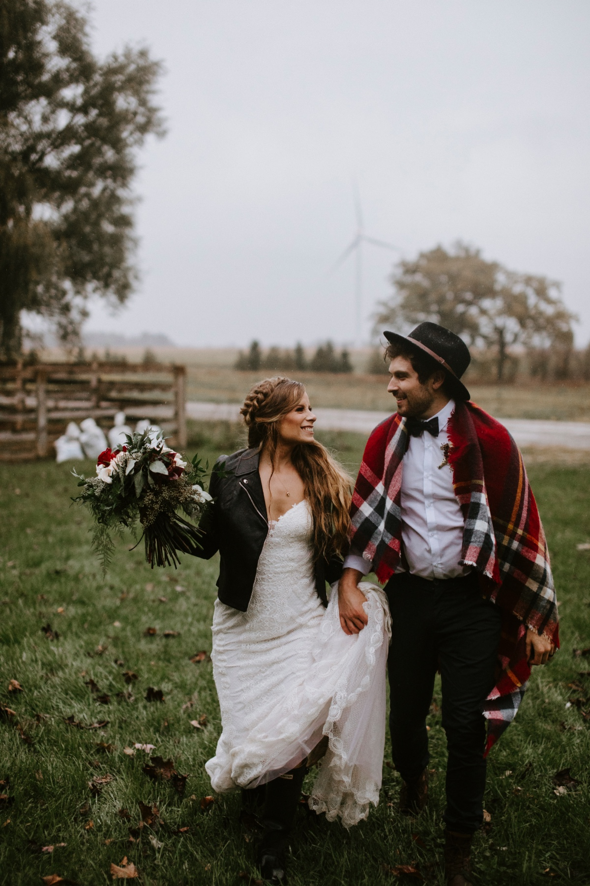Alpaca farm wedding ideas