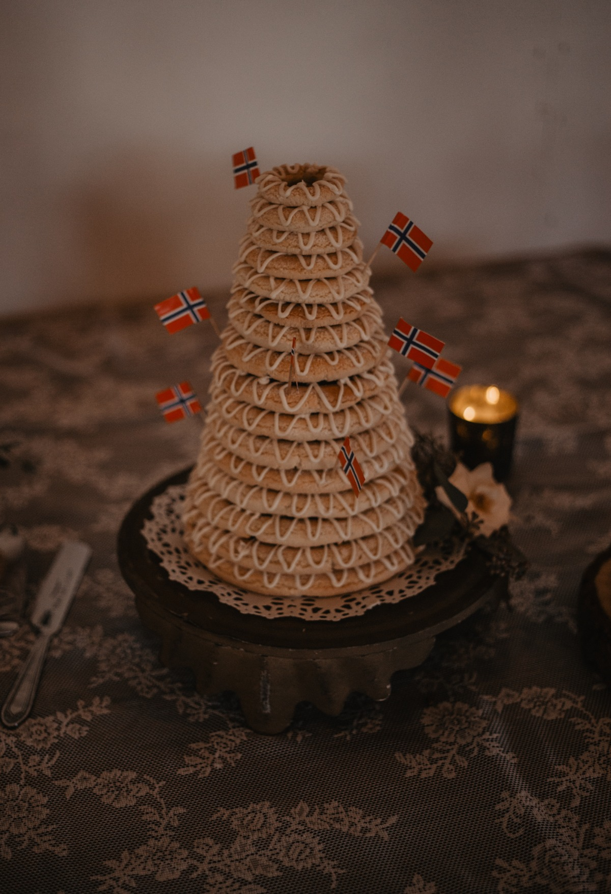 Norwegian traditional cake