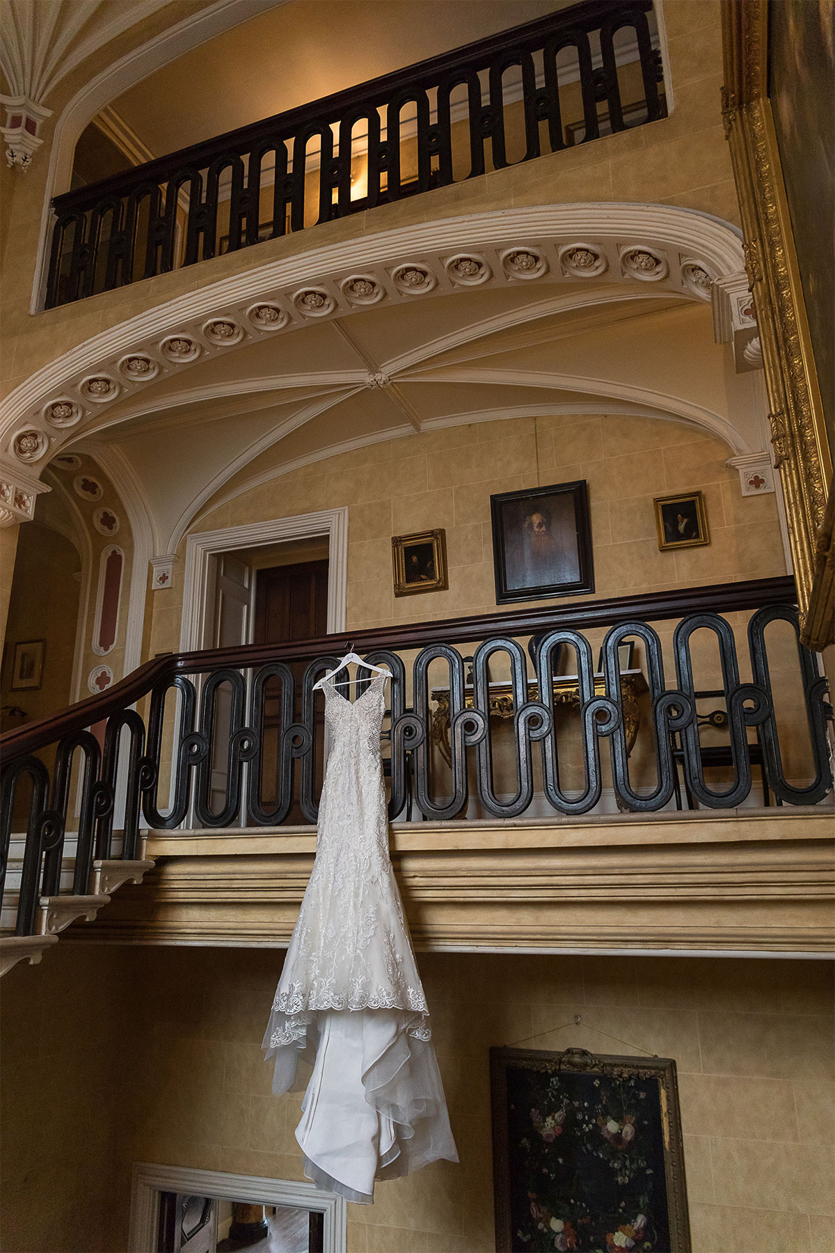 a wedding at Ireland's Borris House