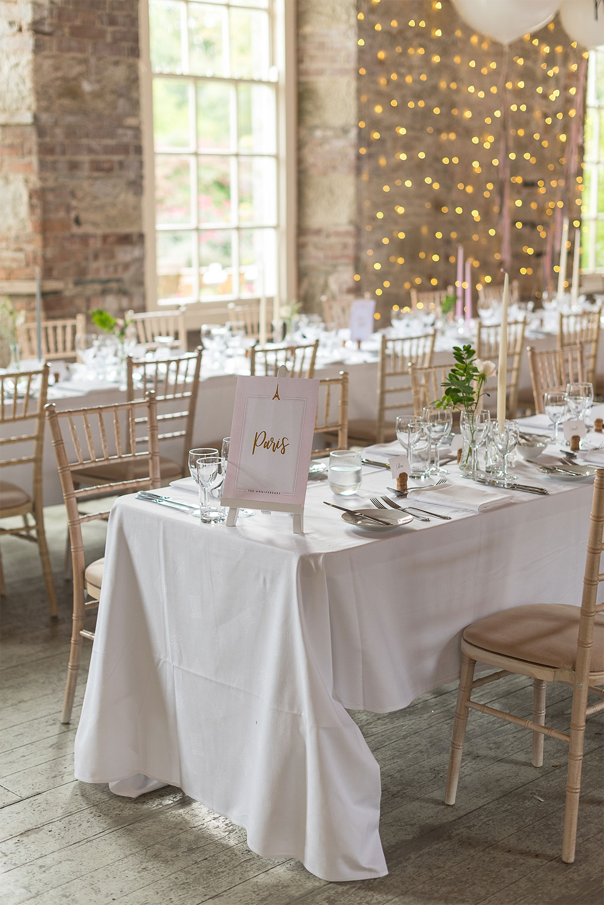 fresh and sweet country elegant wedding reception