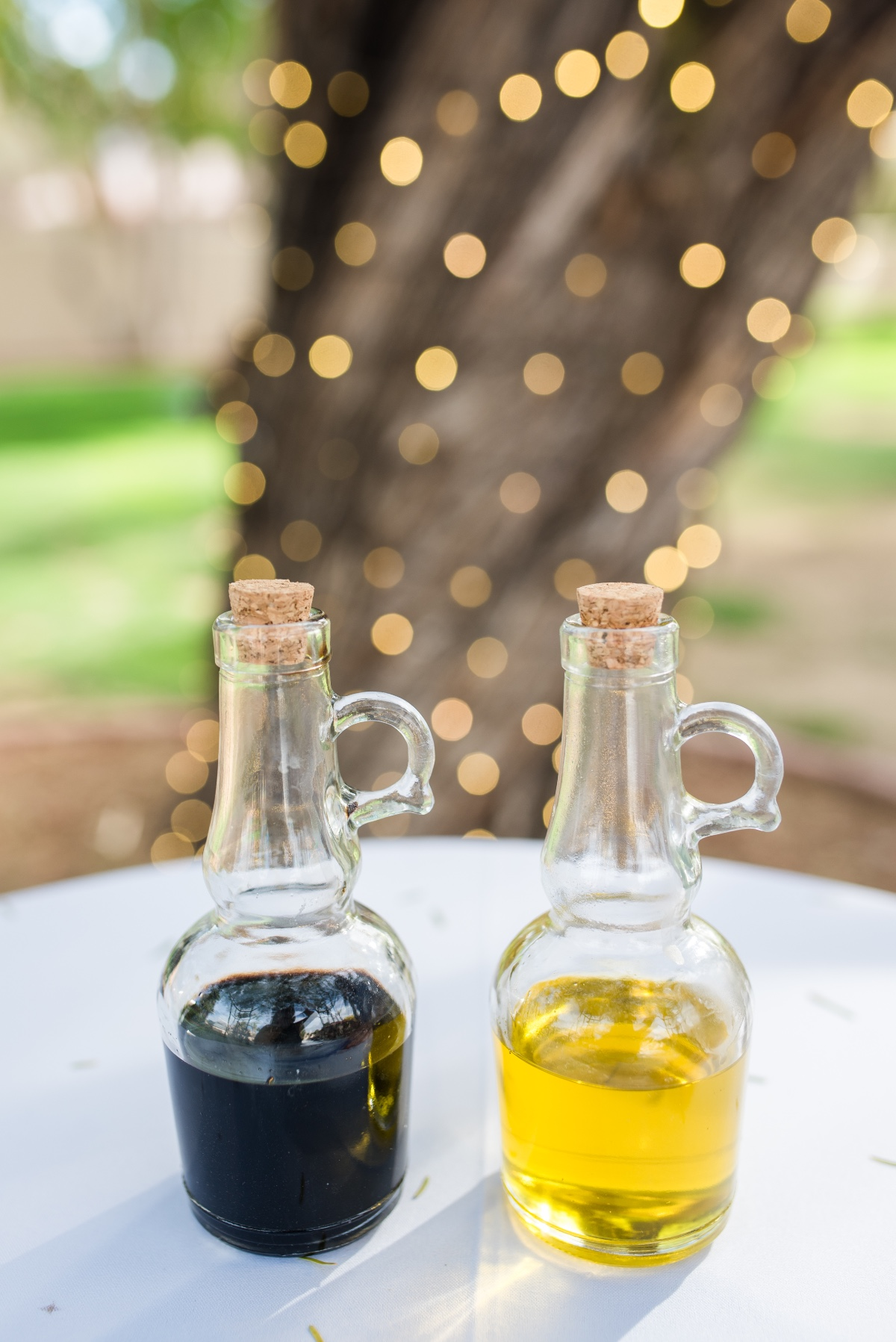 Vinegar and oil ceremony