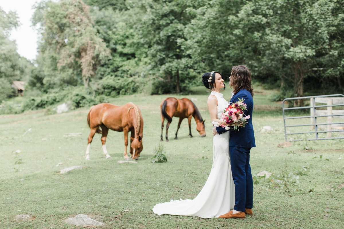 Get married on a farm