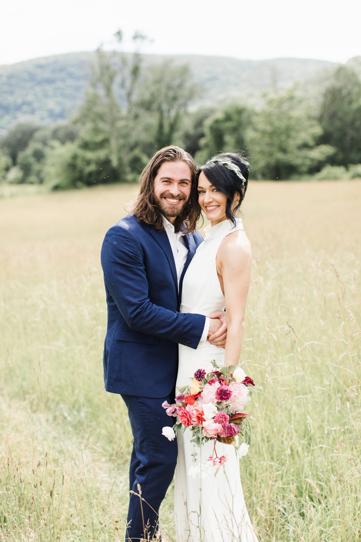 Romantic farm wedding