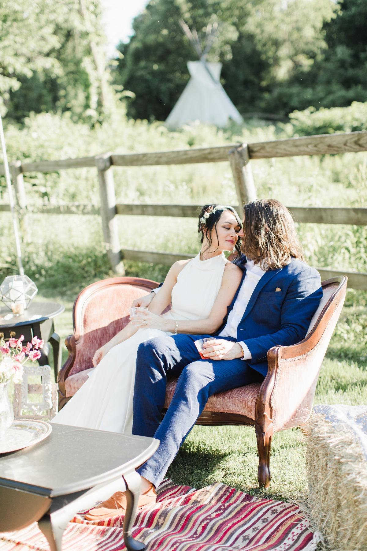 Vintage wedding at The Spirit Horse Farm
