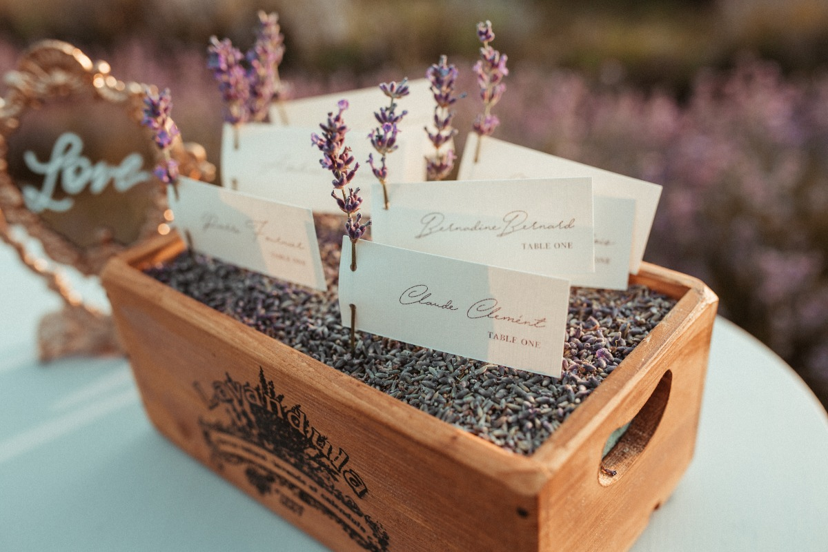 Lavender seating chart