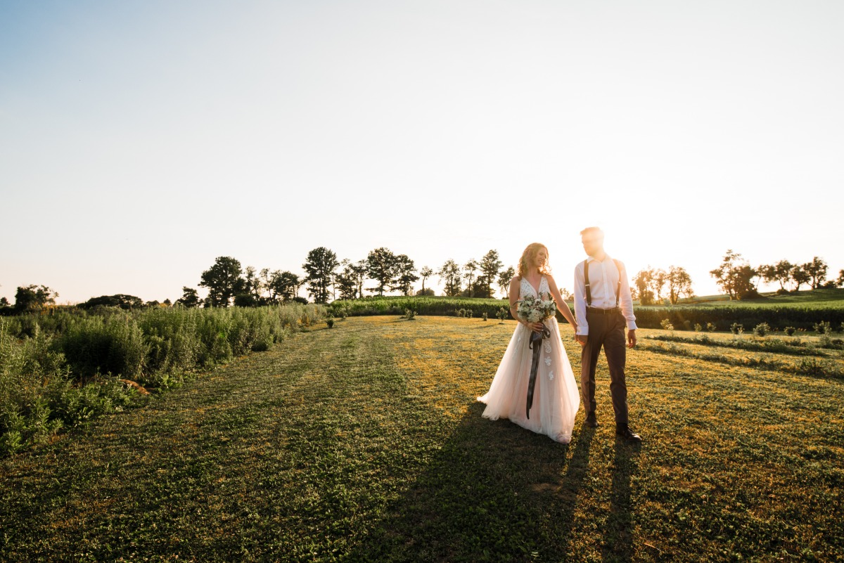 Lavender field wedding ideas