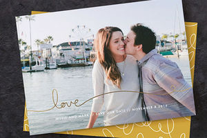 Save The Date With Minted