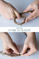 DIY Twig Napkin Rings
