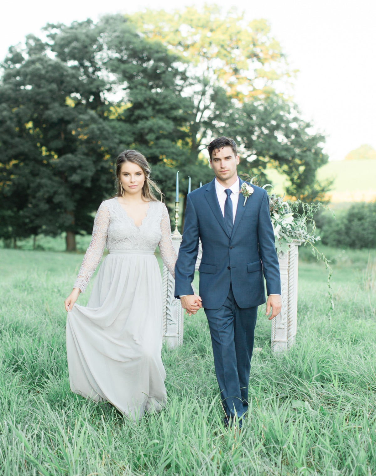 Modern day Cinderella inspired wedding