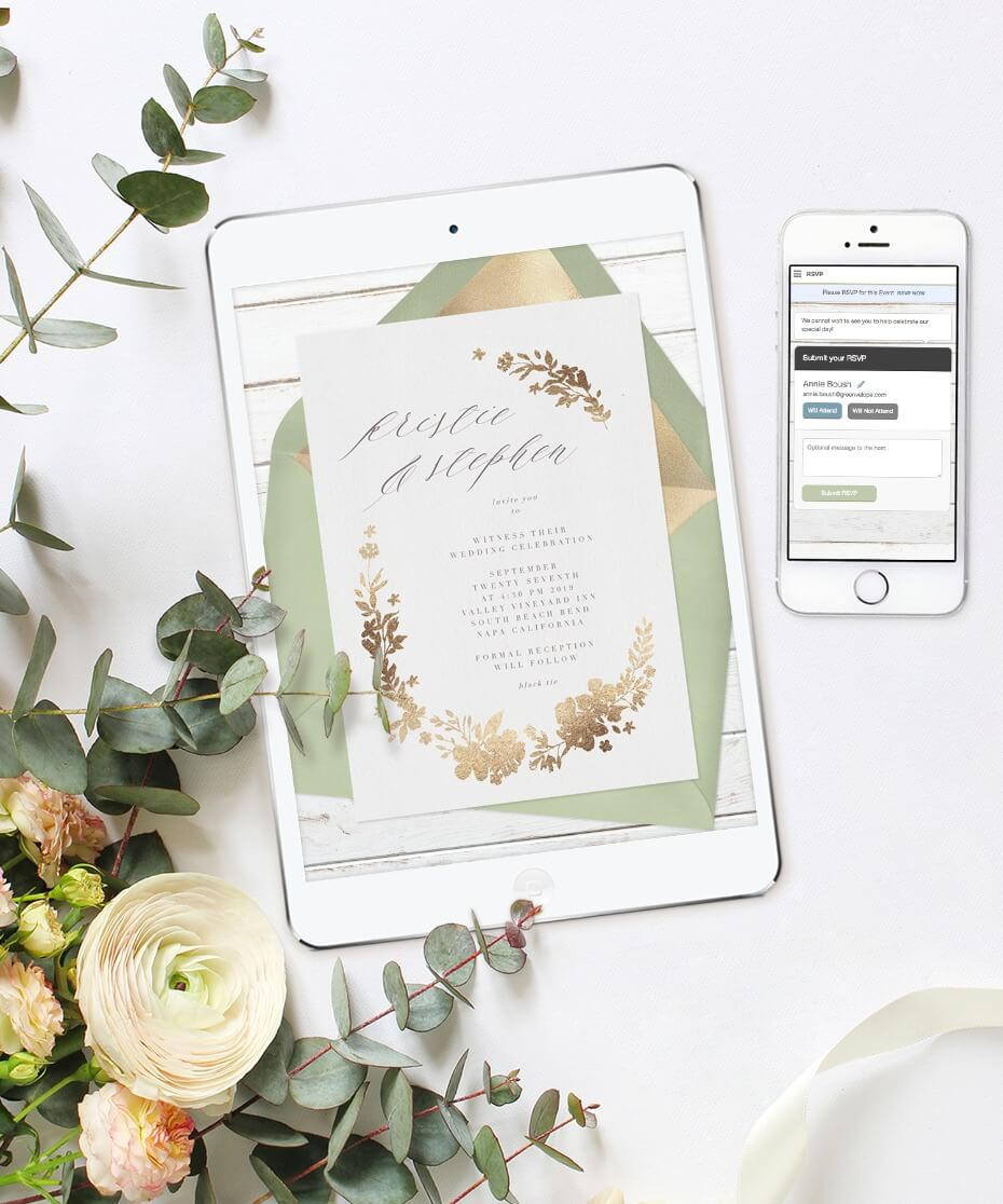 Greenvelope 5 Misconceptions About Sending Out Online Wedding Invitations
