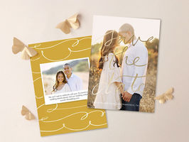 Dazzle With Minted's Save The Dates