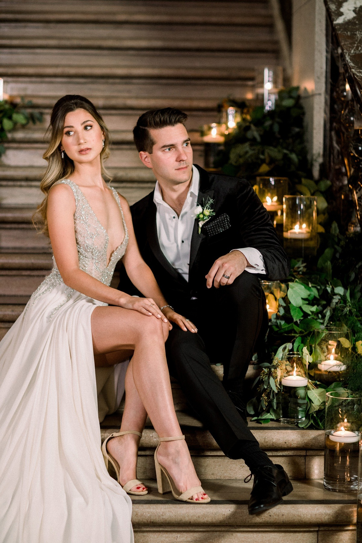 f76341bfd6 New Years Eve Sexy Glam Wedding Inspiration