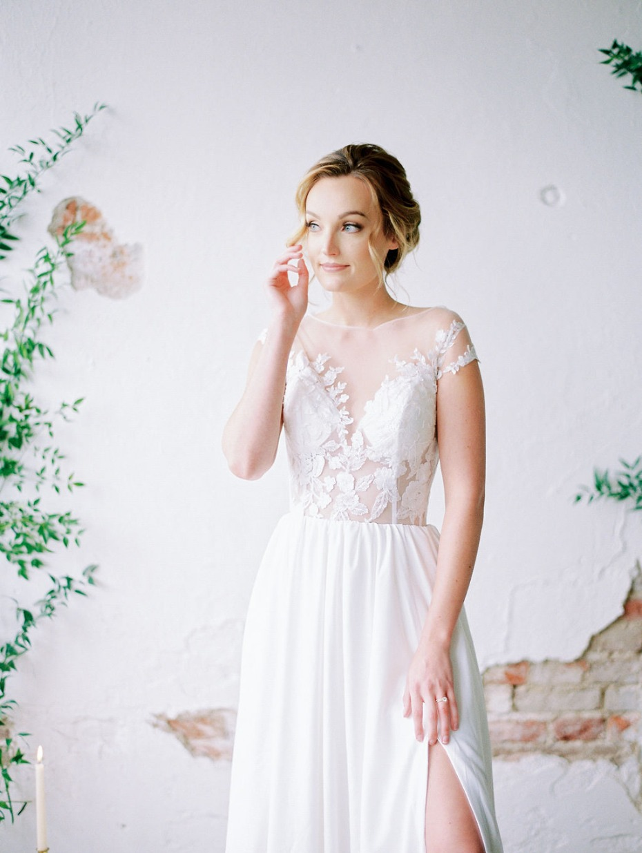 Blue Bridal House Collection in Denver Colorado