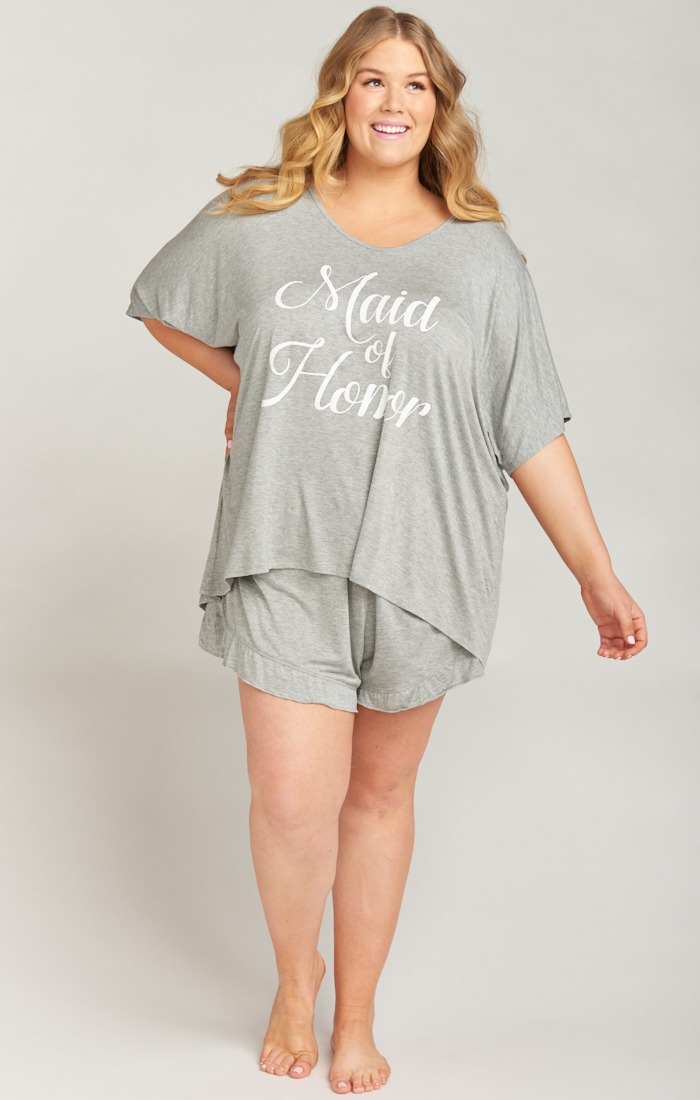 Show Me Your Mumu Extended Sizing Bridesmaids PJ sets