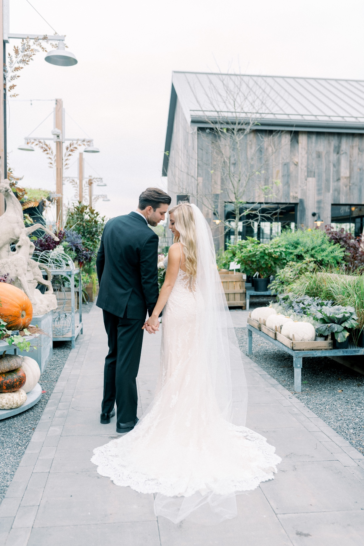 Rustic chic fall wedding