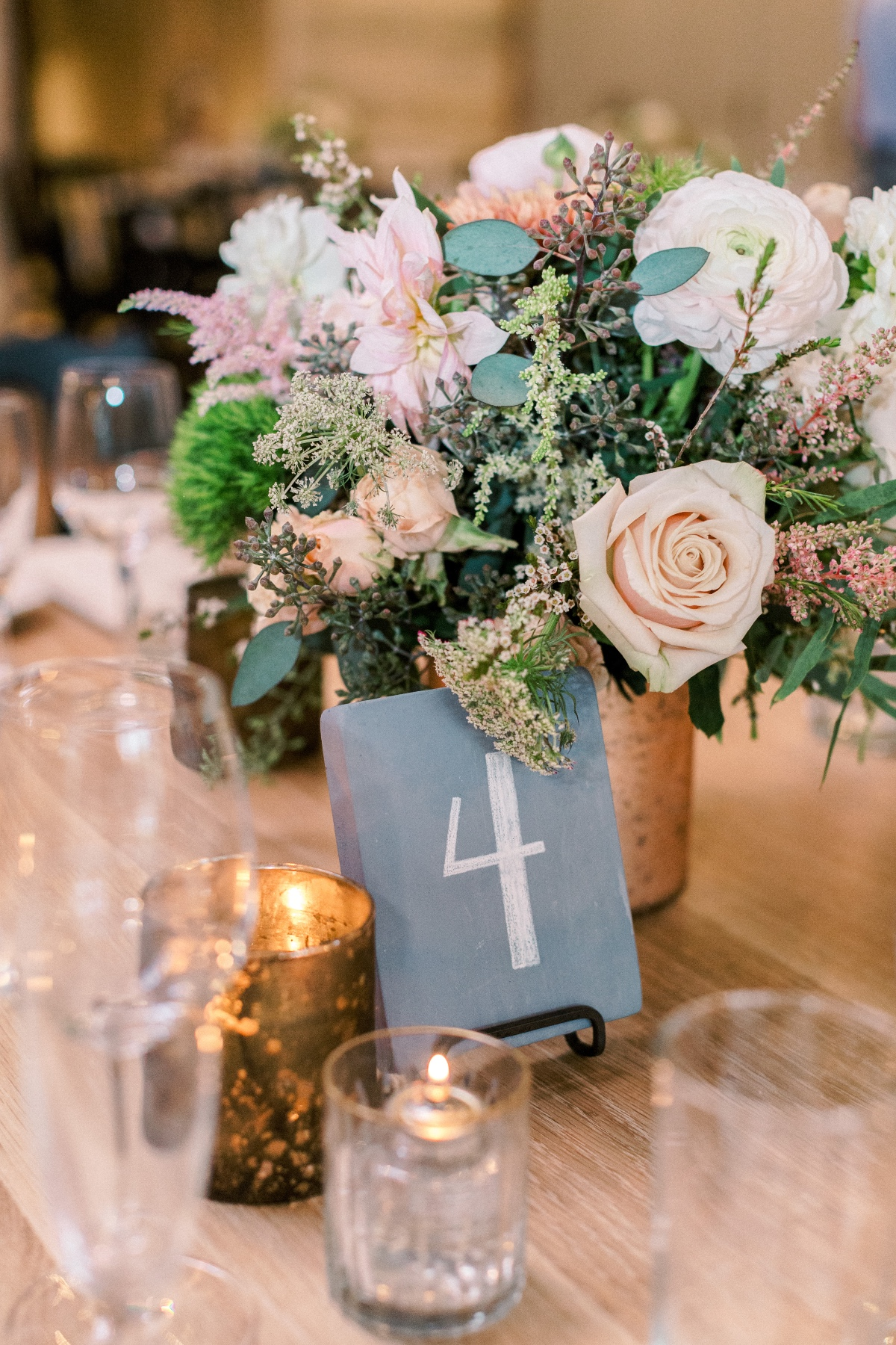 Table number design