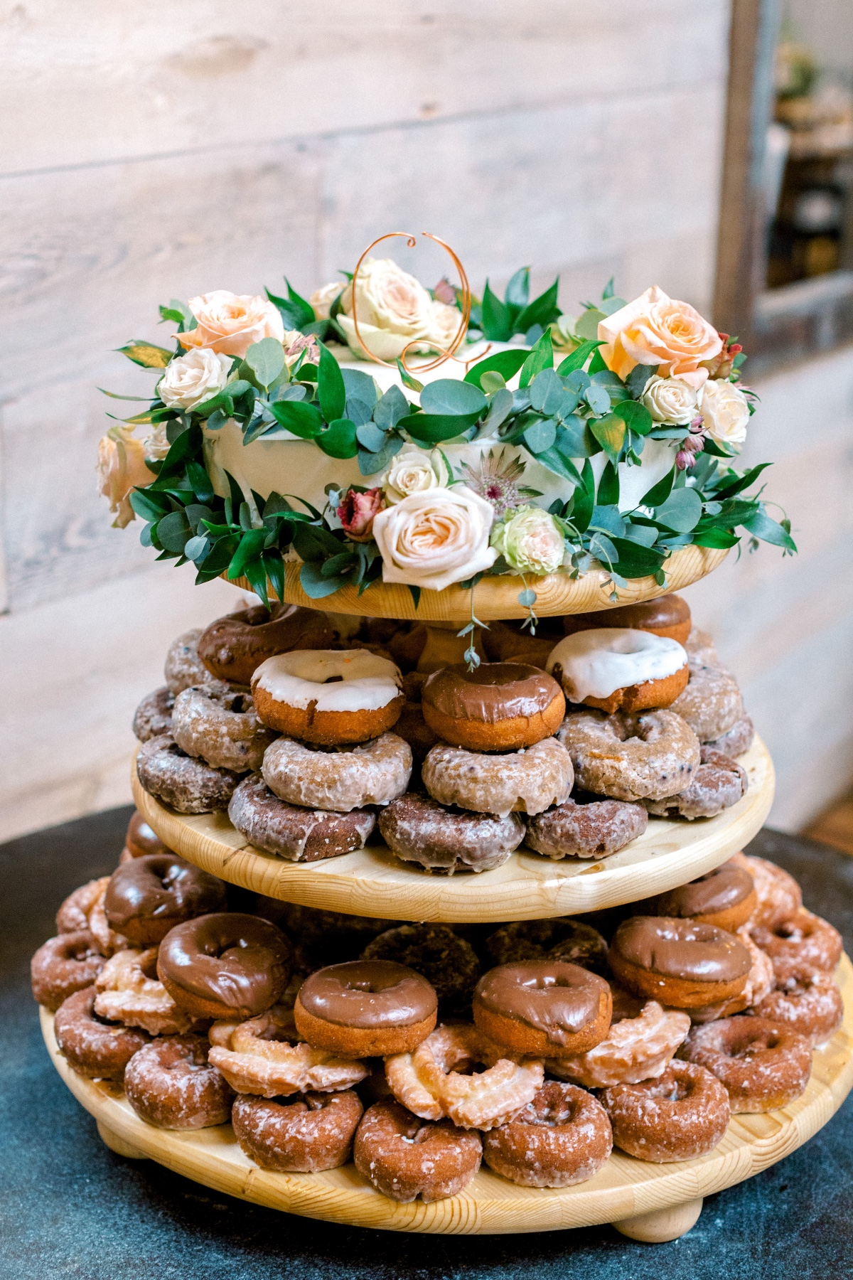 Wedding donuts + cake