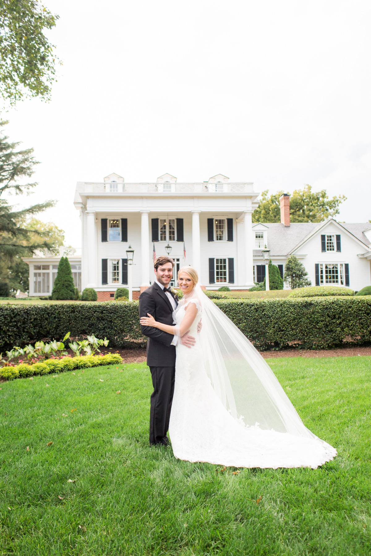 Classic wedding at Rose Hill Plantation