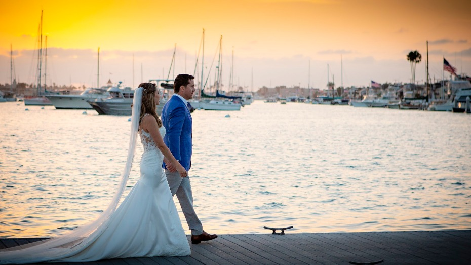 Kitty and Trey Wedding at Balboa Yacht Club