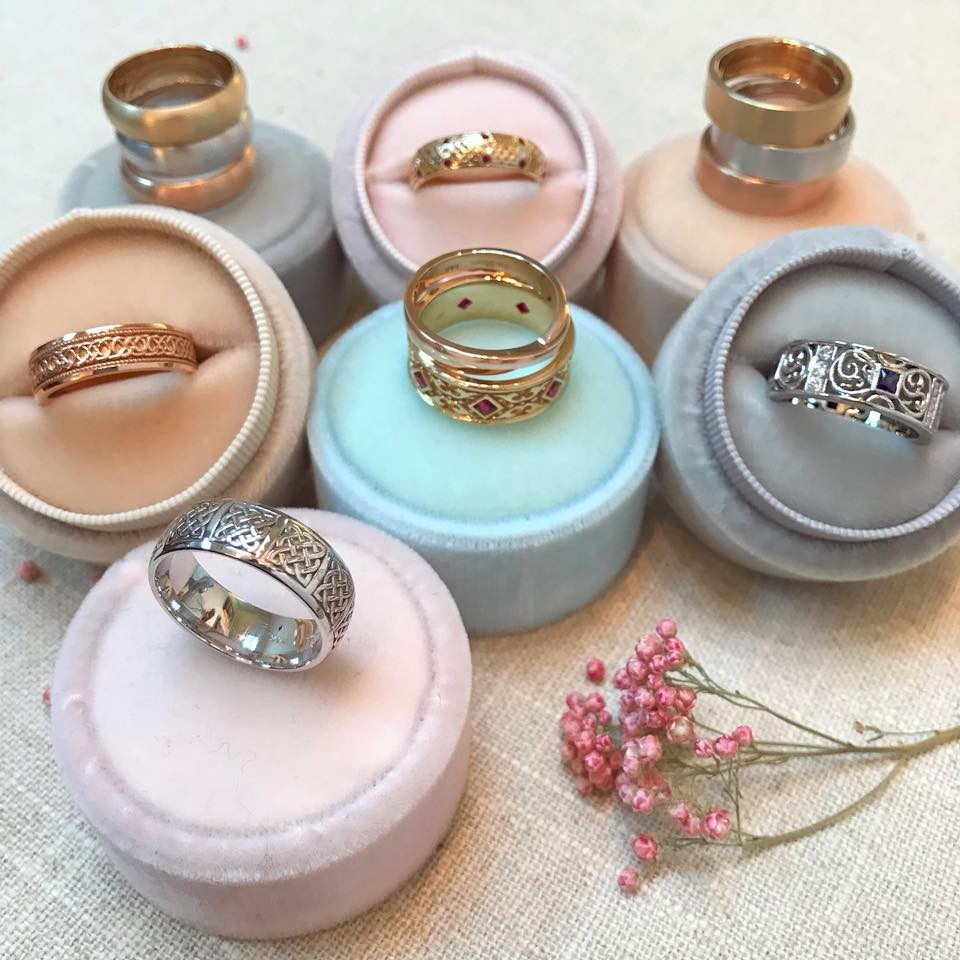 It's almost Valentine's Day ladies! Get the special someone in your life one of our Men's Wedding Bands ~