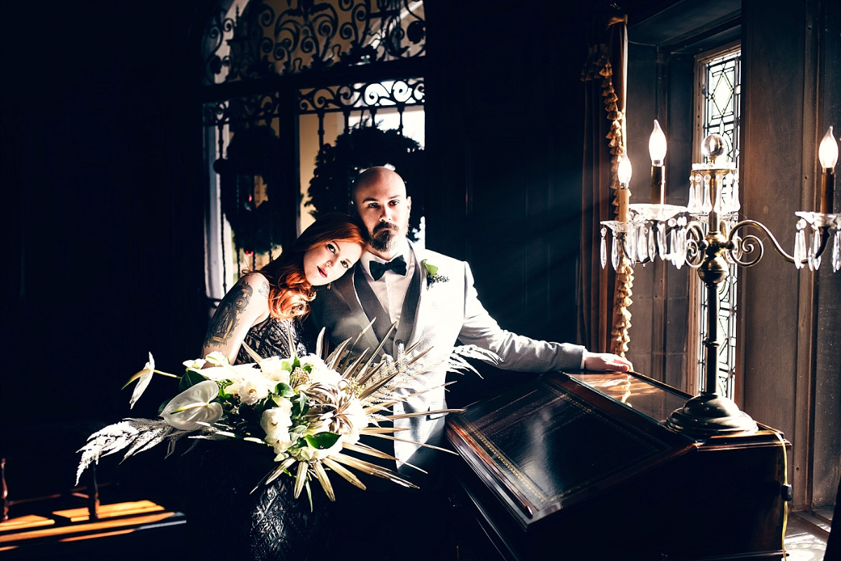 Haunted mansion wedding inspiration