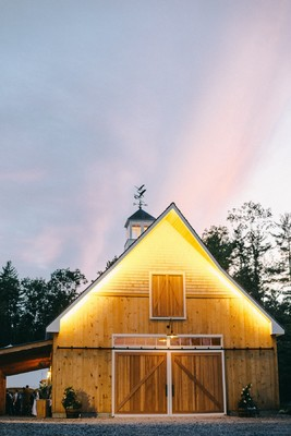 This Couple Built Their Own Venue for Their Wedding Day