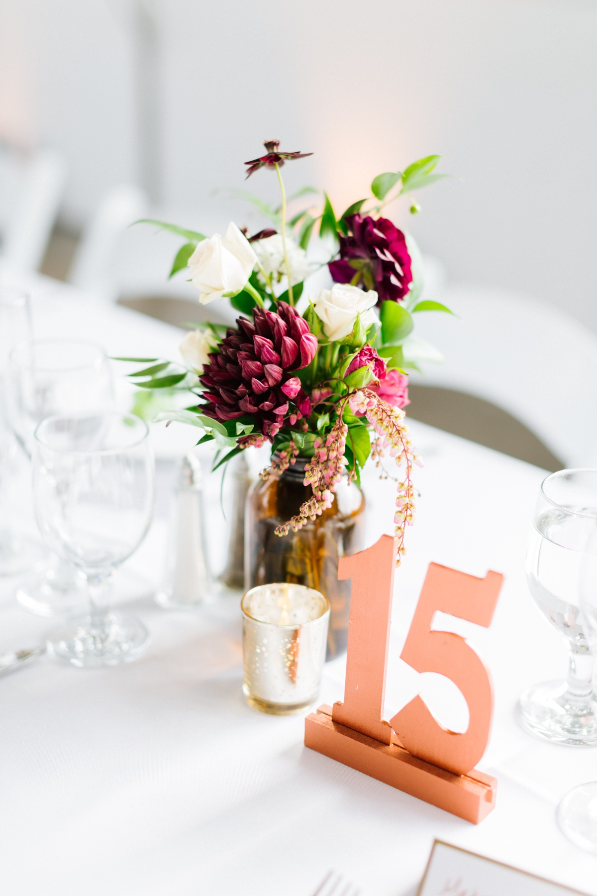 Copper table numbers