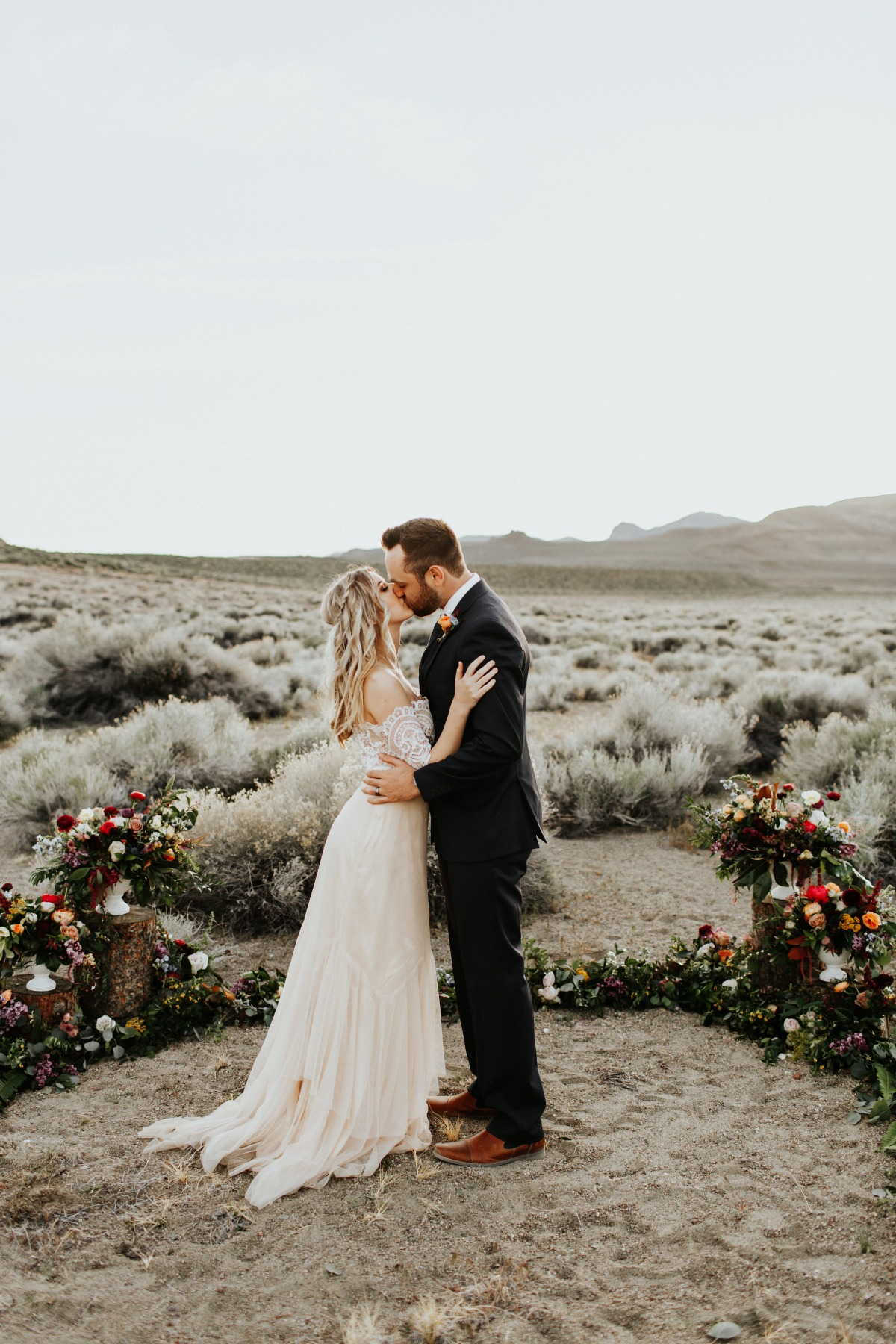 Desert elopement shoot
