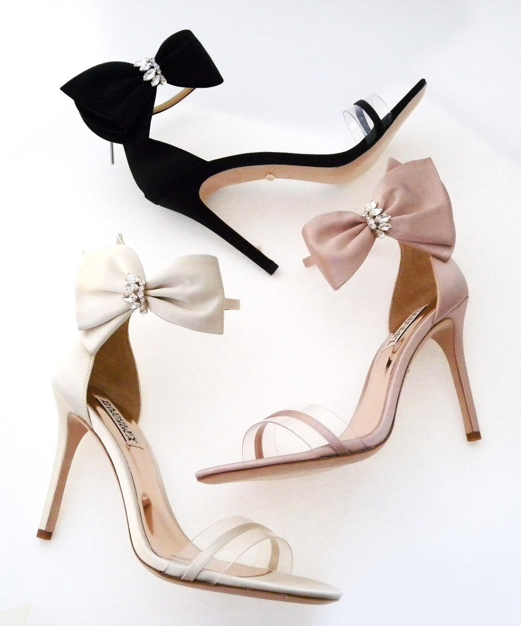 Put a bow on it! Badgley Mischka Fran in a color for everyone.