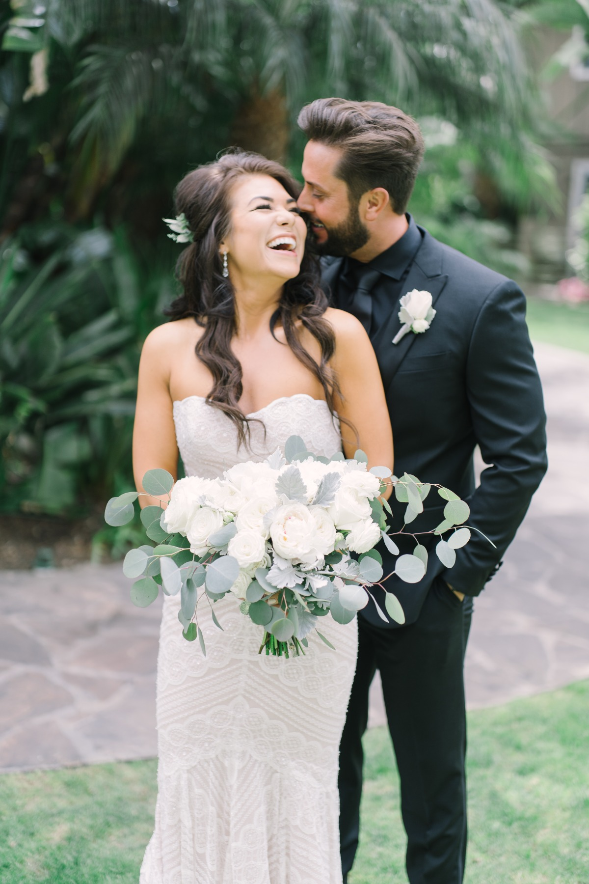A Grey And White Wedding By The Bay In San Diego