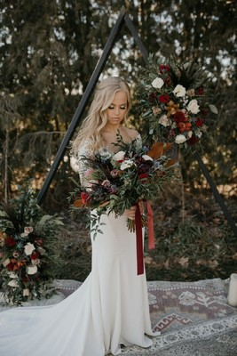 Moody Bohemian Romance Wedding For Two