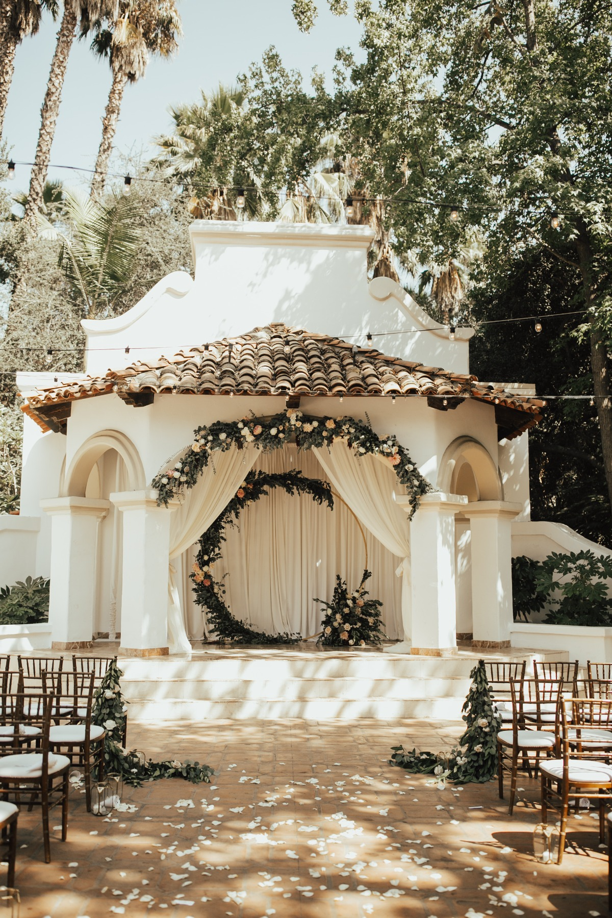 outdoor ceremony design