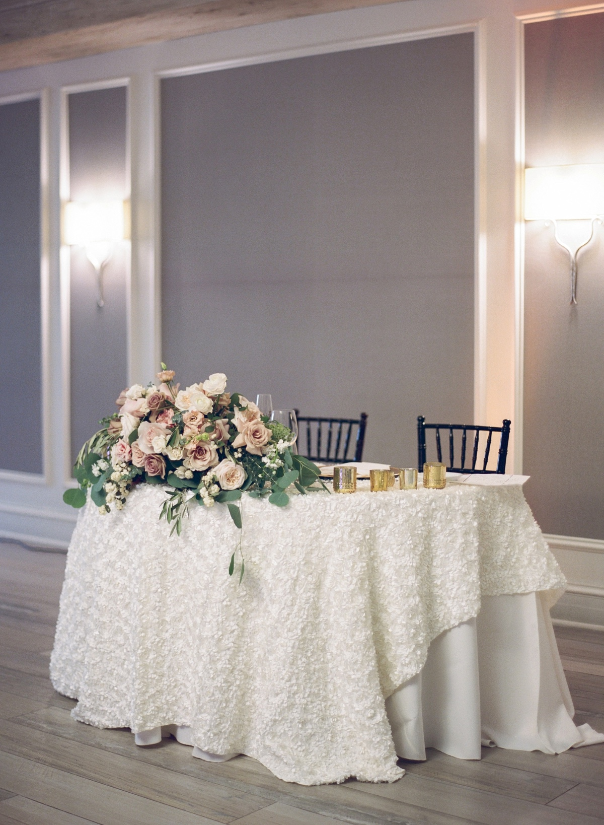 soft pastel sweetheart table